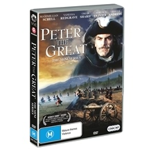 Peter The Great - Mini-Series (1986) DVD