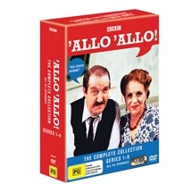 'Allo 'Allo! - Complete DVD Collection