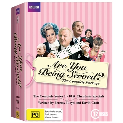Are You Being Served DVDs